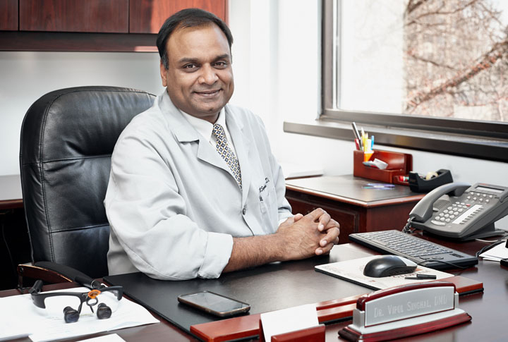 Meet Dr Vipul Singhal DMD, FICD, FACD - Arlington Heights Dentist - Arlington Heights Dentist Cosmetic and Family Dentistry